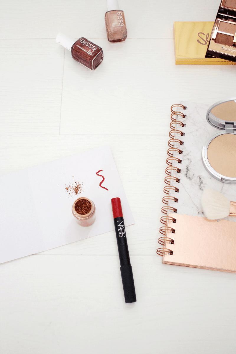 Christmas makeup blog post