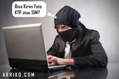 Hati-hati Mengirim Foto Identitas Berupa KTP atau SIM
