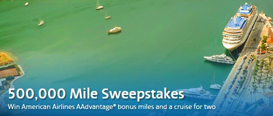 American Airlines 500,000 Miles Sweepstakes