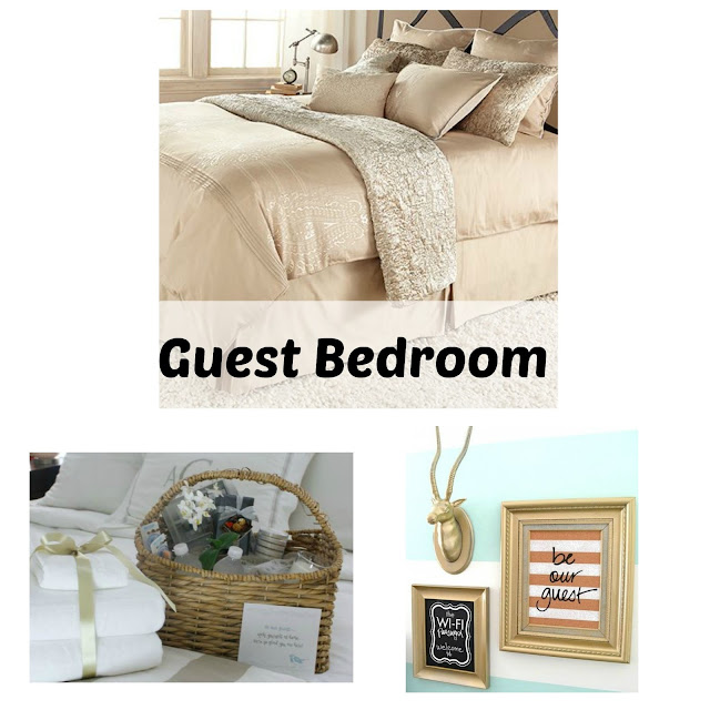 Simple ways to get your guest room ready for holiday guests on FizzyParty.com