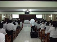 BABINSA Kelurahan Kratonan Melaksanakan PAM di Gereja Joyodiningratan