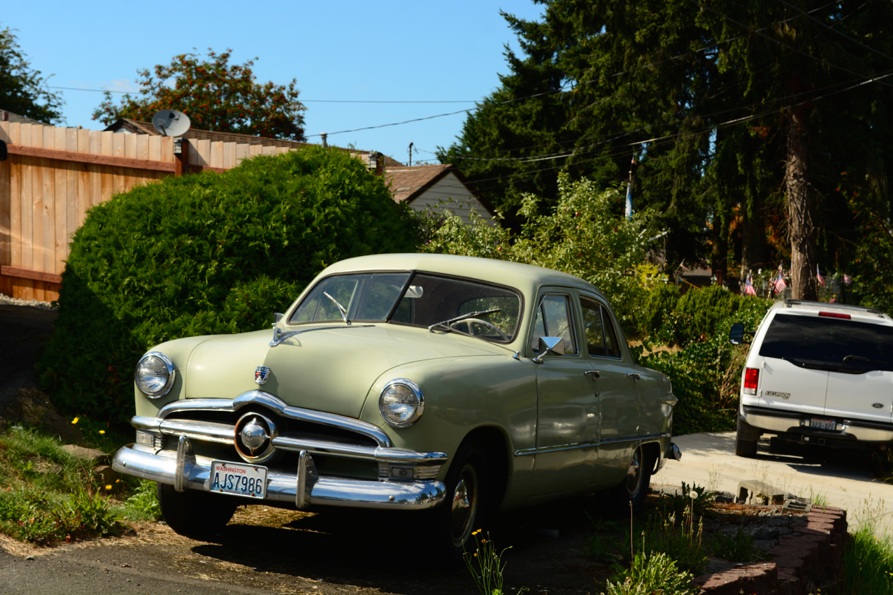 OLD PARKED CARS.: 1950 Ford.1950s Cars Ford