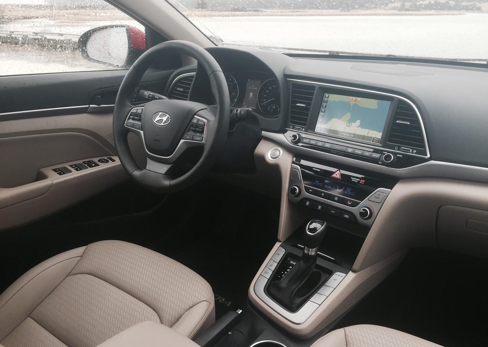 Hyundai Elantra Interior 2017