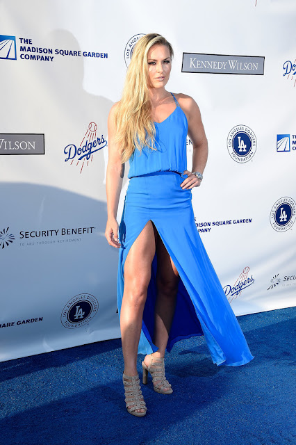 World Cup Alpine Ski Racer, @ Lindsey Vonn - the Los Angeles Dodgers Foundation Blue Diamond Gala