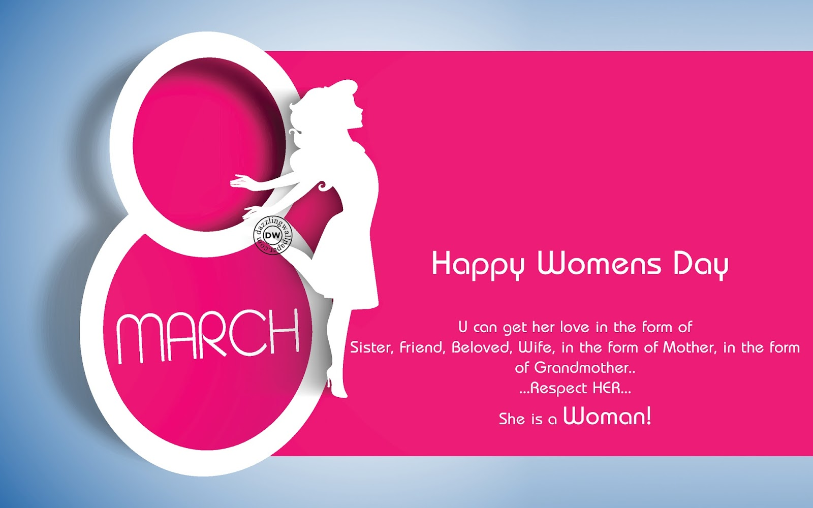 Happy Women's Day Wishes in English