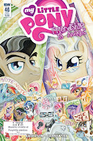 MLP IDW Friendship is Magic #46 Comic Subscription Cover by Sara Richard