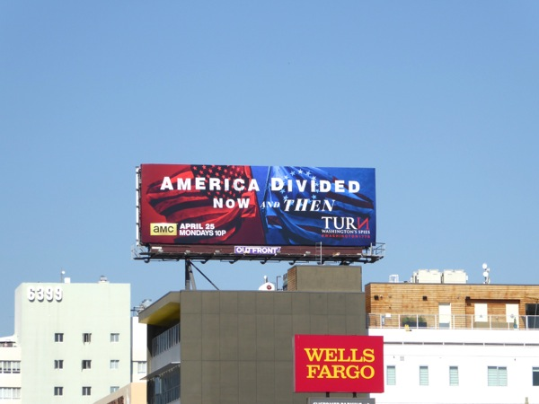 Turn season 3 America Divided billboard
