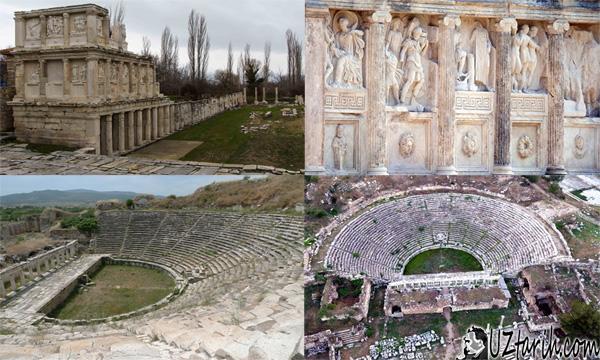 APHRODISIAS theatre, sebasteion