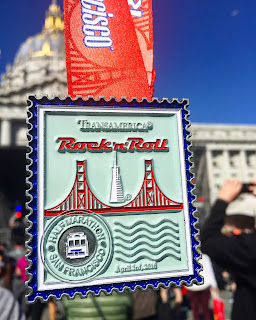 Rock n Roll San Francisco Medal