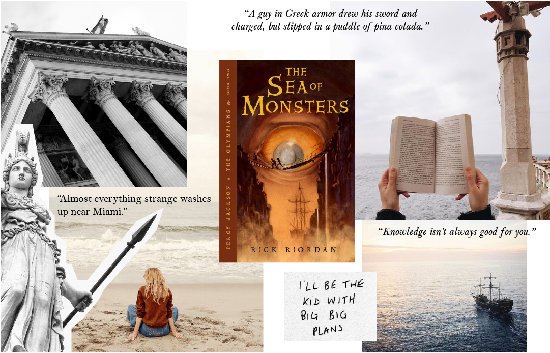 The Sea of Monsters Aesthetic