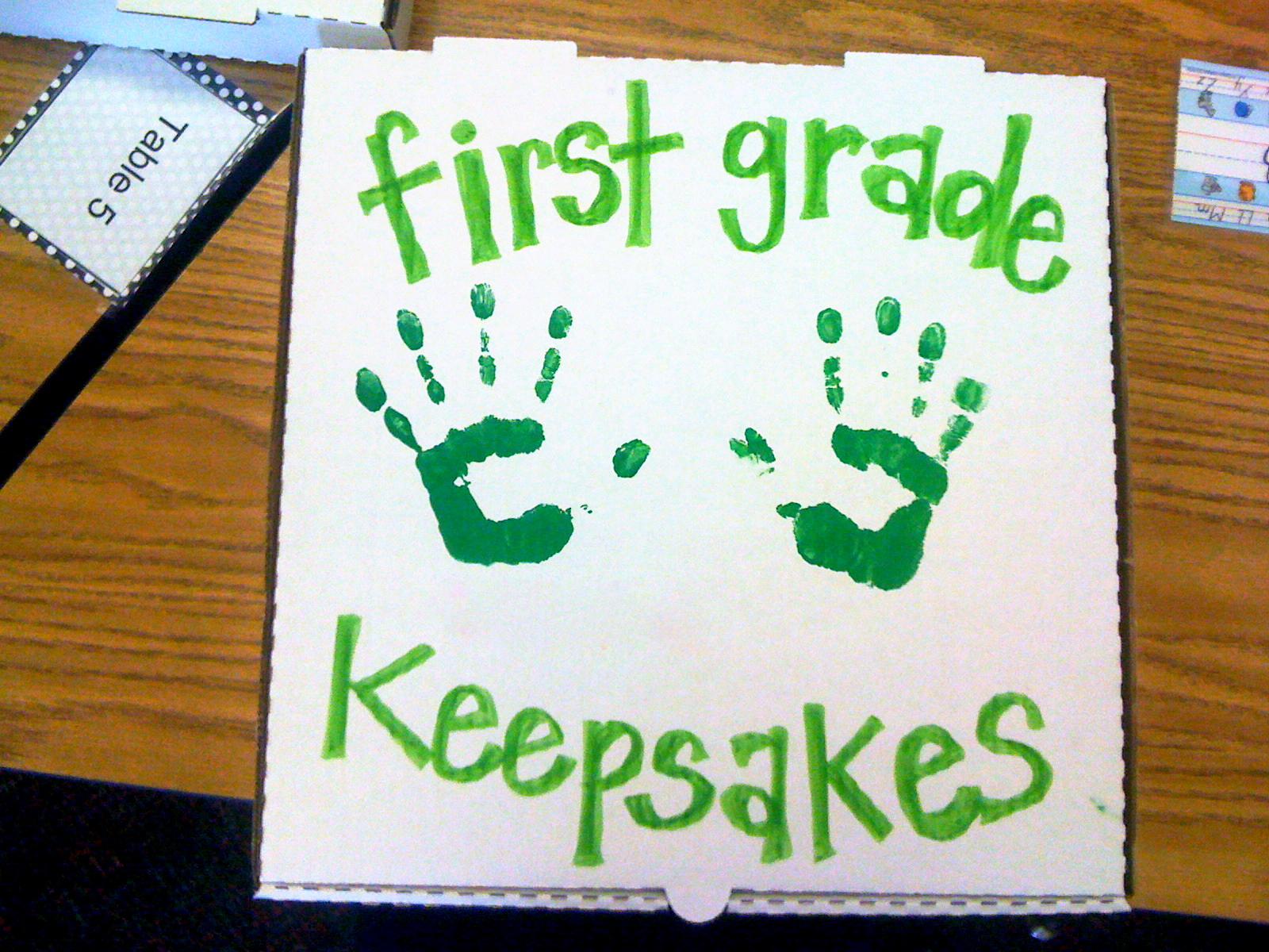 Polka Dot Firsties: Throwback Thursday (1st Grade Keepsakes