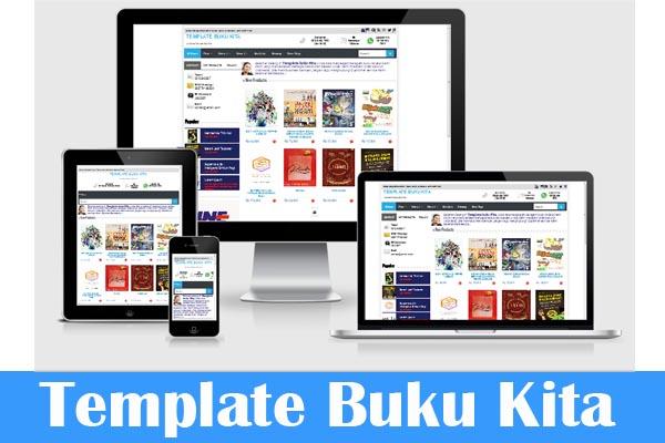 Homepage template buku kita