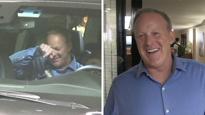 Sean Spicer Breaks Down Crying After 'Dancing with the Stars' Premiere