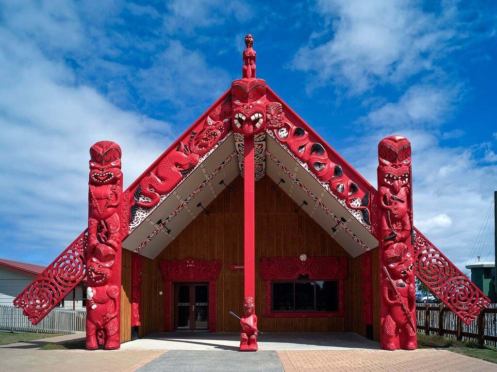 Marae suku Maori