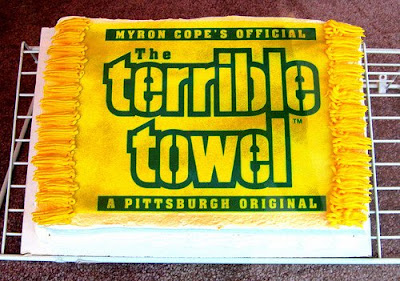 Pittsurgh Steelers grooms cake