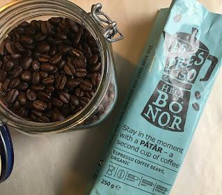 Coffee bean from Ikea