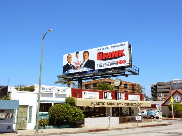 The Brink HBO series billboard