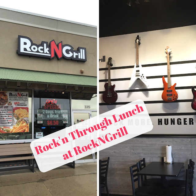 Lunch and Rock N Roll Nostalgia at Rock N Grill in Lake in the Hills, Illinois