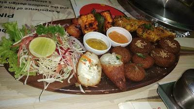 Veg Kebab Platter by Pind Balluchi Bar & Restaurant, Connaught Place, New Delhi