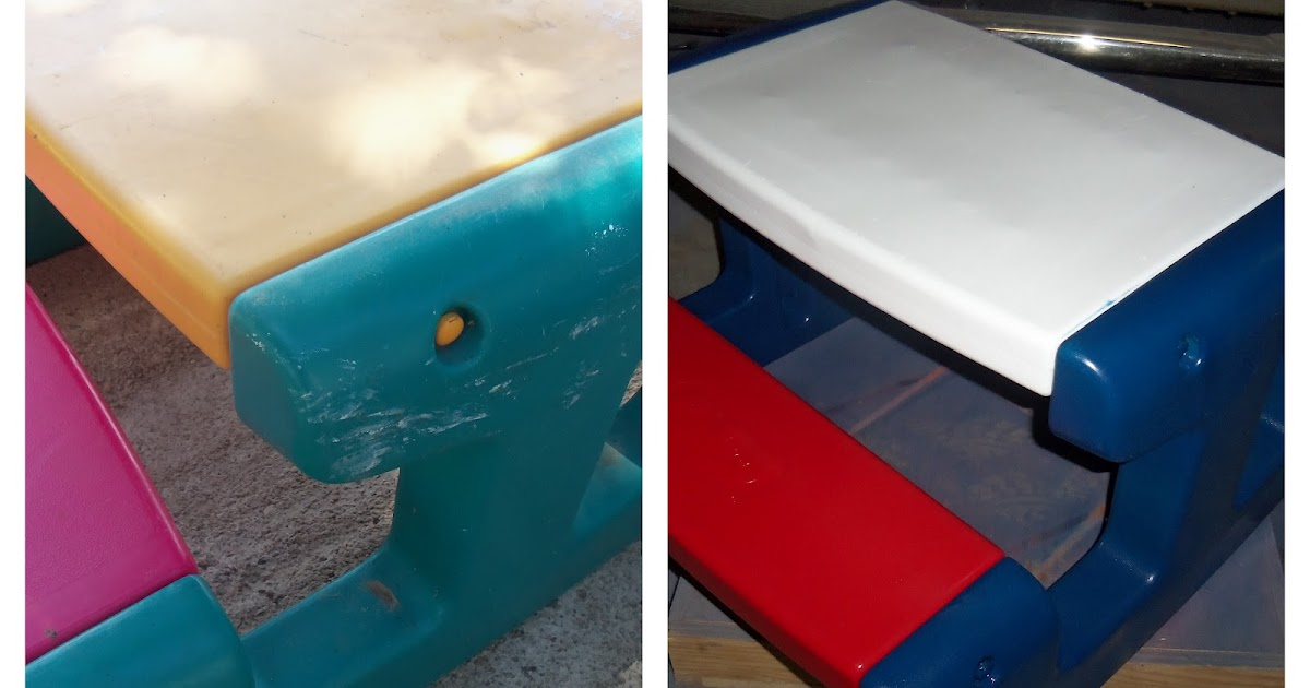 DIY Project: Spray Paint Plastic Little Tikes Outdoor Toys ...