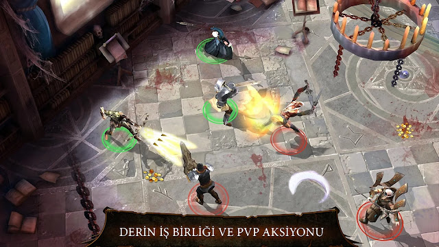 dungeon hunter 4 hile apk indir