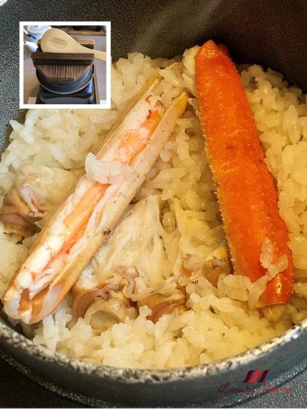kani doraku dotombori honten claypot crab rice