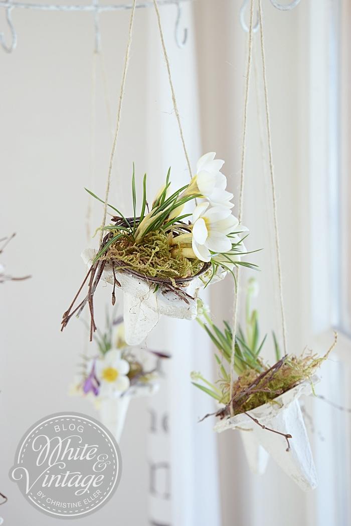 Fensterdeko für den Frühling