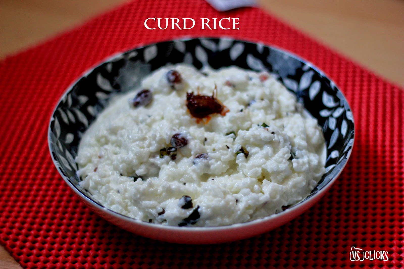 Curd Rice How to Guide