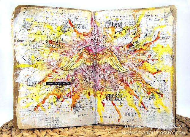 ART JOURNAL: WYZWANIE NR 3.