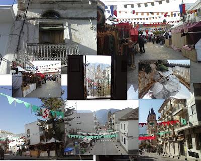 Mercado medieval de Orgiva