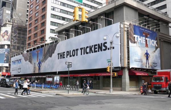 The Tick season 1 billboard