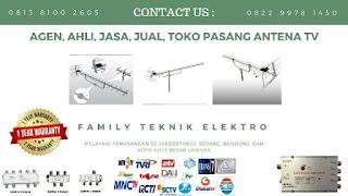 Agen Pasang Antena TV Tanah Sereal Kecamatan Kota Bogor
