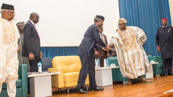 """""""We are greater together than apart"""" – Read Ag. President Osinbajo's Speech at #Biafra50 Forum"""