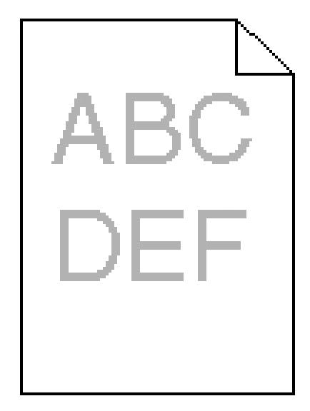 Toner-Spot: Lexmark C935 Print Quality Troubleshooting