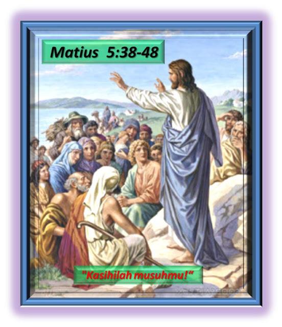 Matius  5:38-48