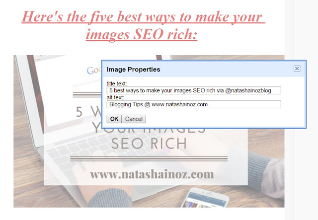 Adding ALT & TITLE Attributes to your images for SEO