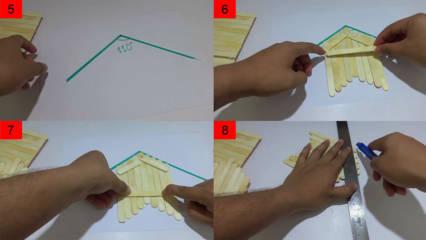 Cara Membuat Rumah dari Stik Es Krim Beserta Gambarnya ...