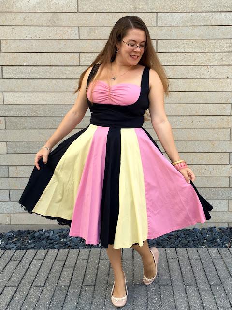 pink just desserts dress