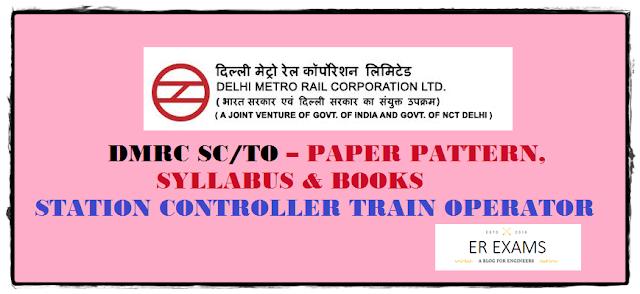 DMRC NMRC  SC/TO Paper Pattern