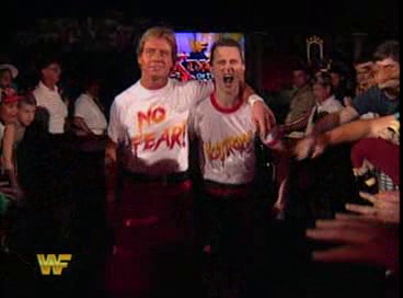 WWF / WWE - King of the Ring 1994: Roddy Piper and the 'fan' who did a great impression of him