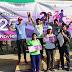 Realizan con éxito segunda carrera para decir: cero tolerancia a la violencia contra las mujeres