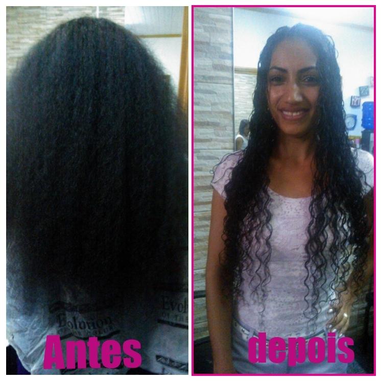 permanente afro, cabelo com permanente