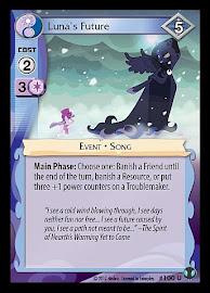 My Little Pony Luna's Future Defenders of Equestria CCG Card
