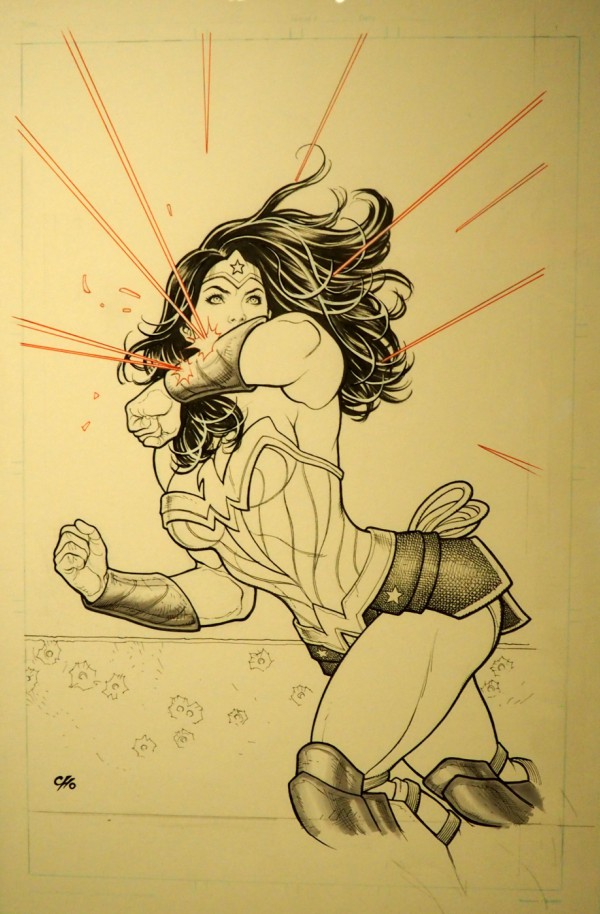 frank cho wonder woman