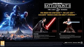 Kylo Ren dan Rey Star Wars Battlefront II