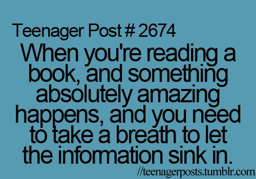 Teen Quotes Every Teenager Brb I Don T Want To Talk To: For The Love Of Books: Teenager Post