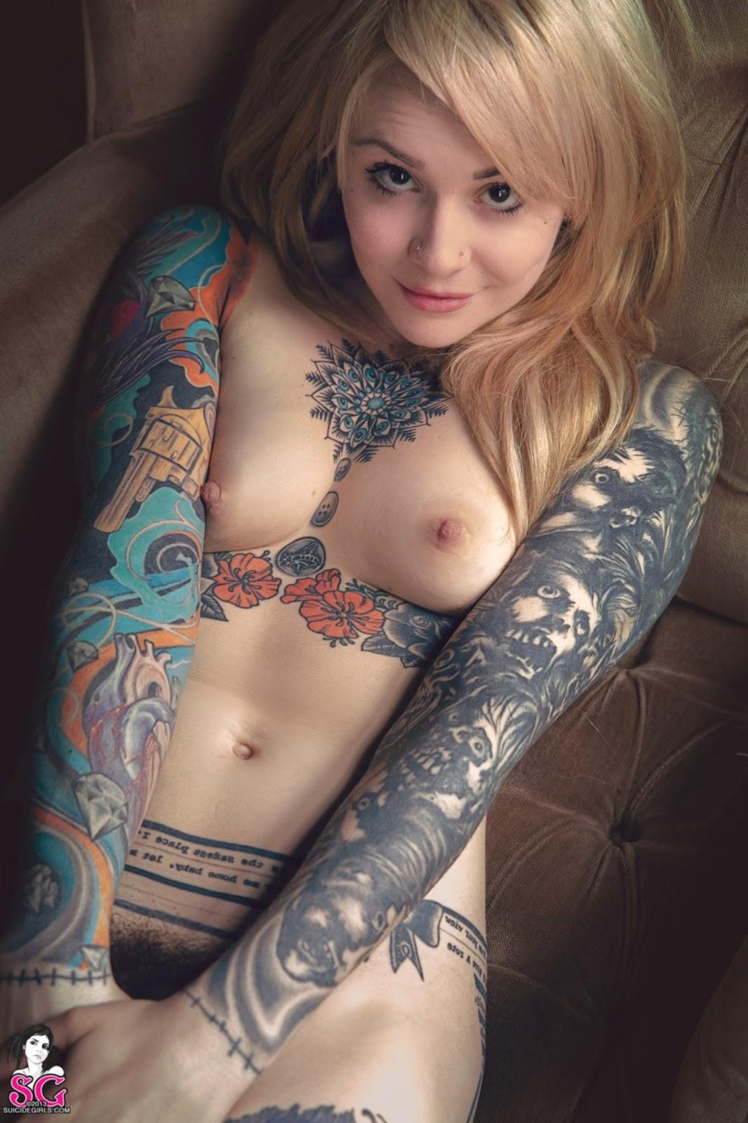 Tattoo  Ink Suicidegirls - Casper - Guest Room-8267
