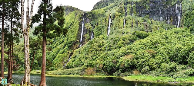 Poço da Ribera do Ferreiro en Flores, Azores