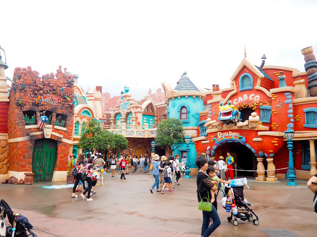 Toon Town, Tokyo Disneyland, Japan