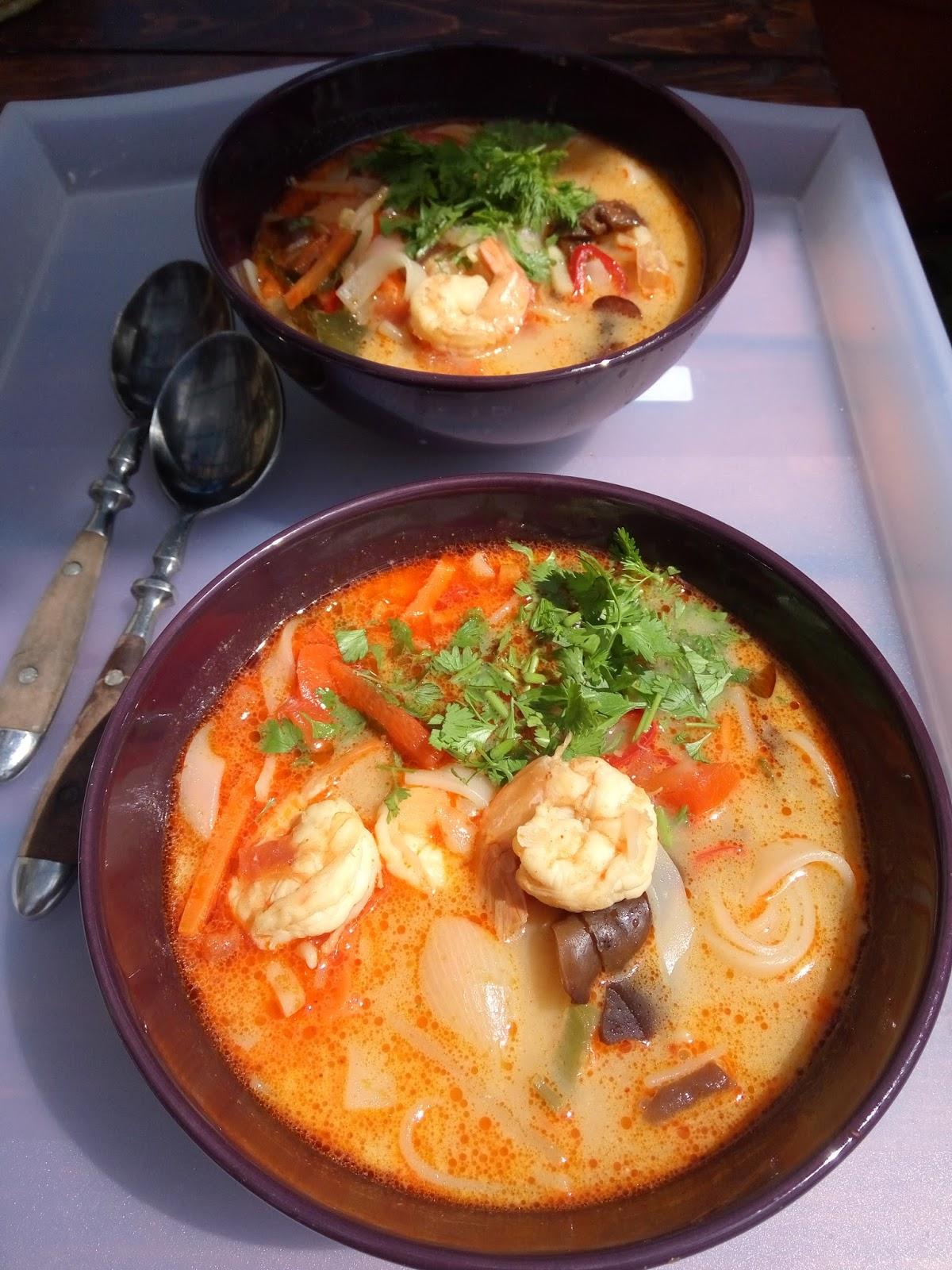 Zupa Tom Yum po mojemu